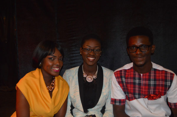 Mitchel Bare, Ayobami Aribisala and Jesse Bankole at the Nominees Cocktail