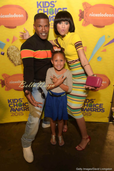 Jamie Foxx, Zendaya & Annalise Bishop