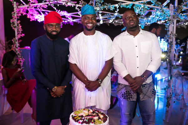 Noble Igwe, Adebola Williams and Tola Odunsi