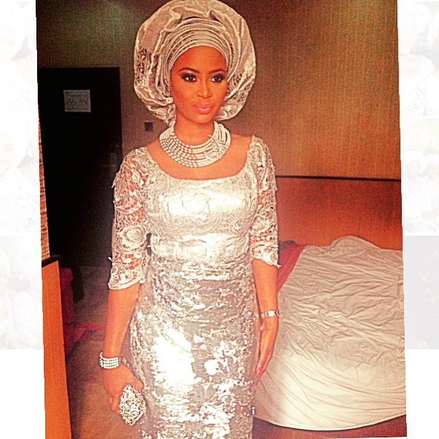Omowunmi Akinnifesi at reni Smith's Wedding - March 2015 2