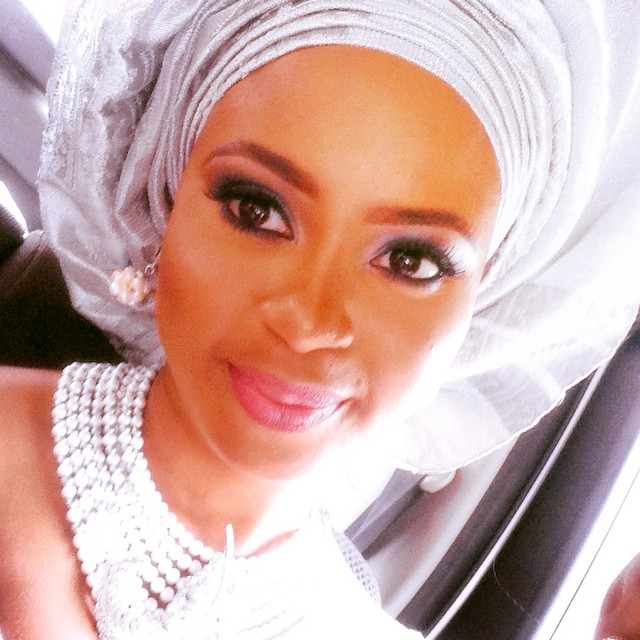 Omowunmi Akinnifesi at reni Smith's Wedding - March 2015