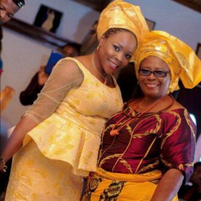 Omwawumi & Mother