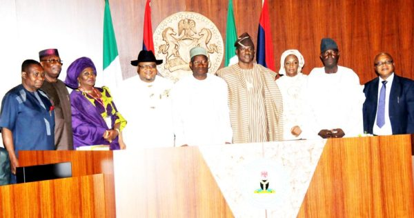 PIC 3 NEW MINISTERS SWORN IN, IN ABUJA