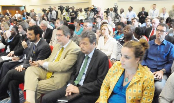 PIC. 7. EU ELECTION OBSERVATION MISSION'S BRIEFING IN ABUJA