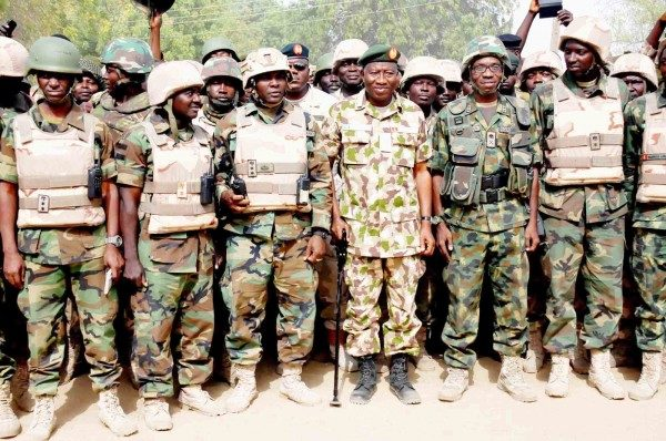 Pres Jonathan Army