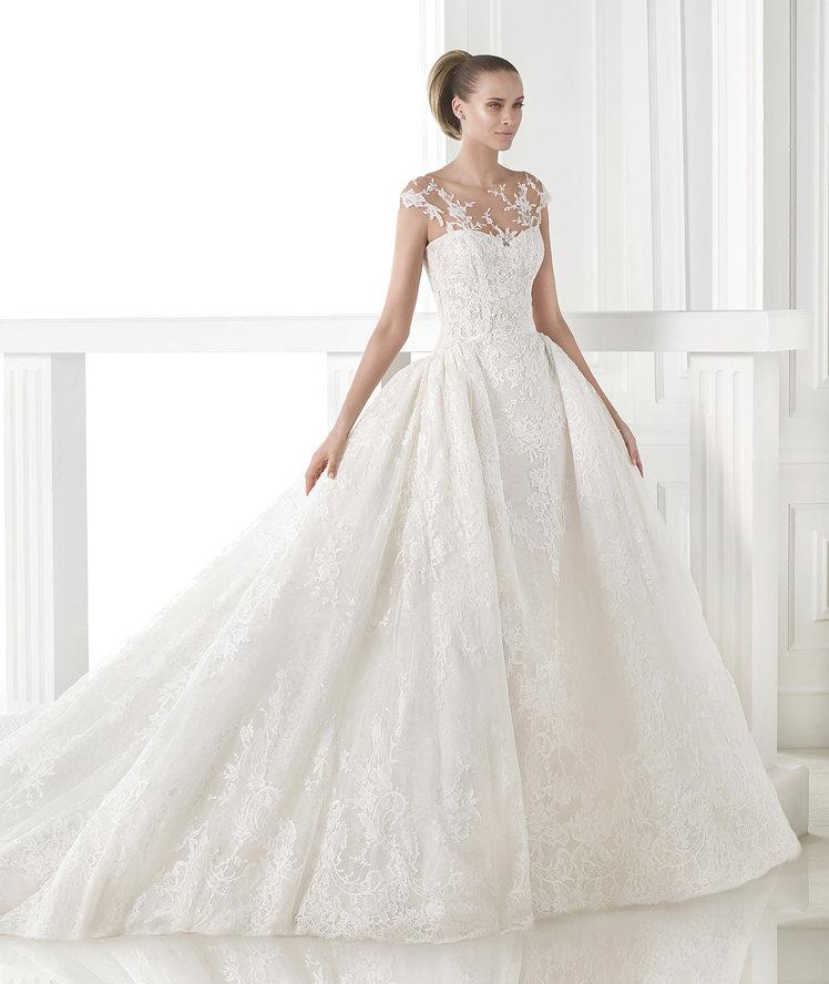 Pronovias Wedding Dresses 2015: BN Bridal: Atelier Pronovias 2015 Collection