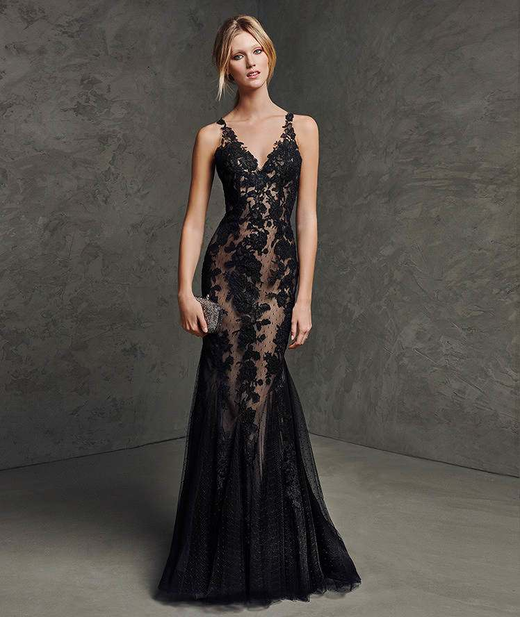 Lovely from every angle presenting the eccentric for Black wedding dresses online