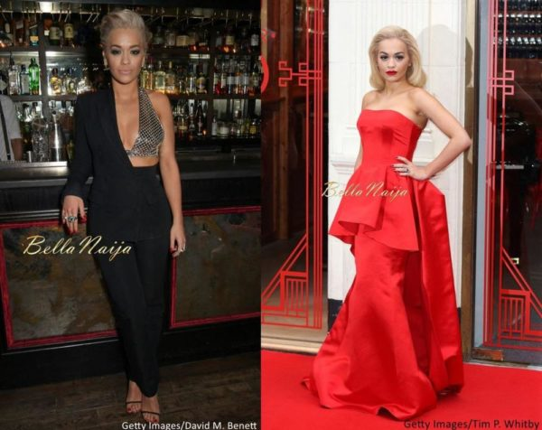 Rita Ora Is Edgy Glam In Jean Paul Gaultier Veni Vici In London Which ...