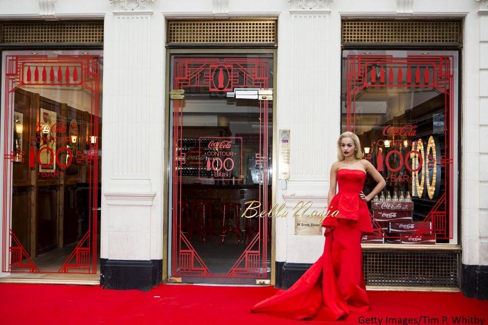 Rita Ora at the Coca-Cola Contour Centenary Bar - Bellanaija - March2015001
