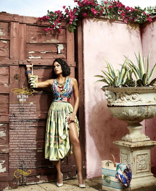 Rosario Dawson for the Oprah Magazine - Bellanaija - March 2015002