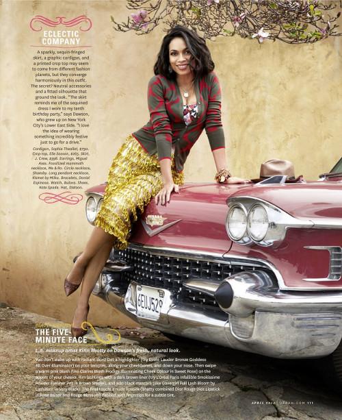 Rosario Dawson for the Oprah Magazine - Bellanaija - March 2015003