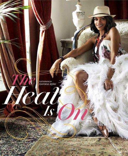 Rosario Dawson for the Oprah Magazine - Bellanaija - March 2015