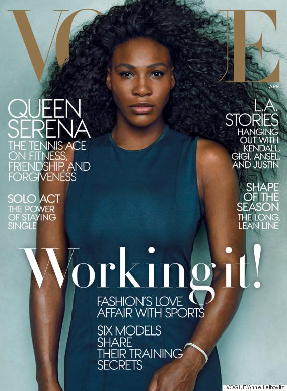 Serena Williams - BellaNaija - March 2015