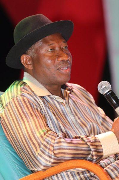 Showbiz Interactive Session for President Jonathan14
