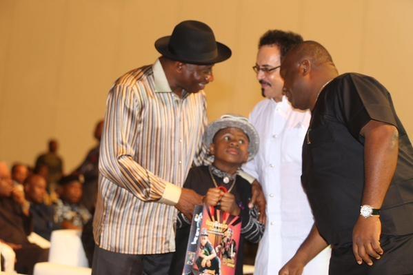 Showbiz Interactive Session for President Jonathan19