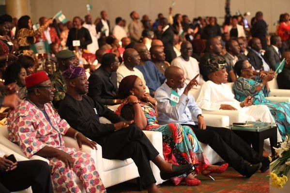 Showbiz Interactive Session for President Jonathan24