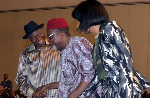 Showbiz Interactive Session for President Jonathan35