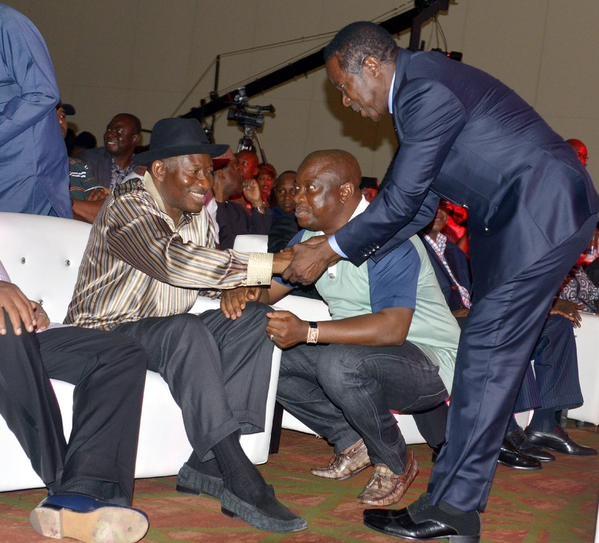 Showbiz Interactive Session for President Jonathan38