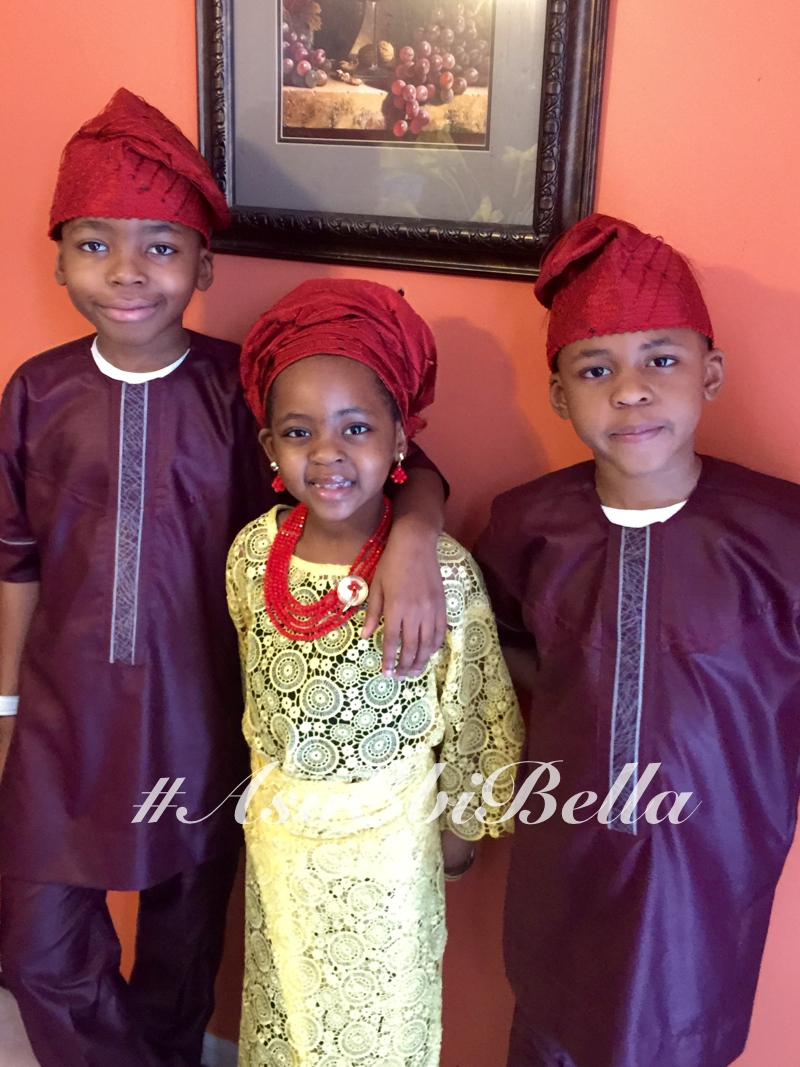 Tise and her brothers