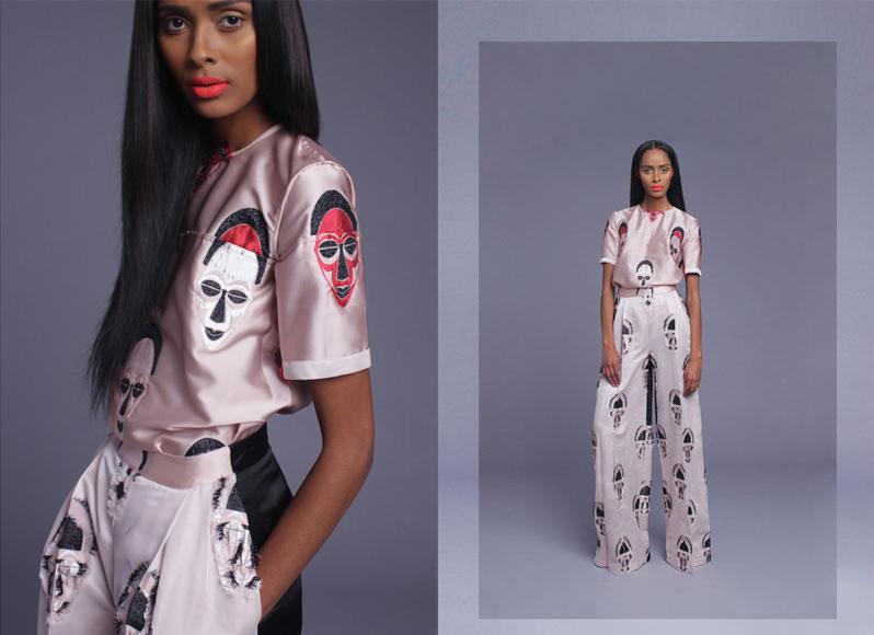 Tsemaye Binite Maask Collection Lookbook - BellaNaija - March 2015
