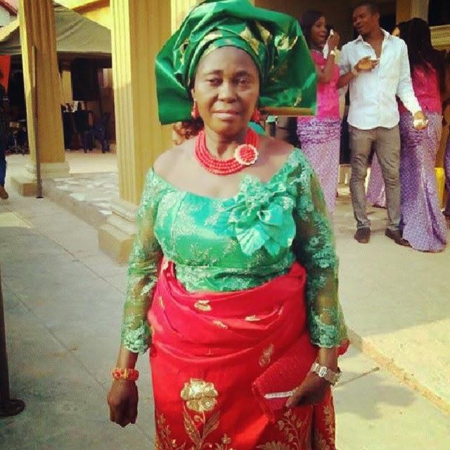 Uche Jombo's Mother