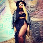 Victoria Kimani on Lupita Graffiti Wall in Nairobi - March 2015 2