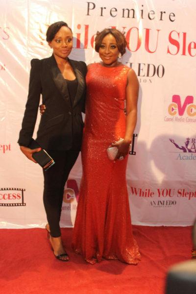 Michelle Dede & Ini Edo