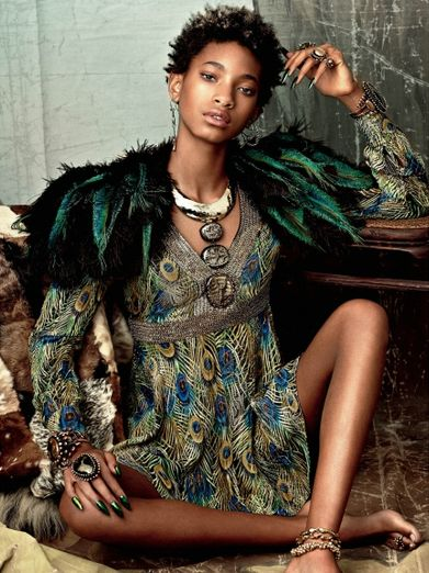 Willow Smith for CRFashion Book Issue 6 - BellaNaija - March 2015
