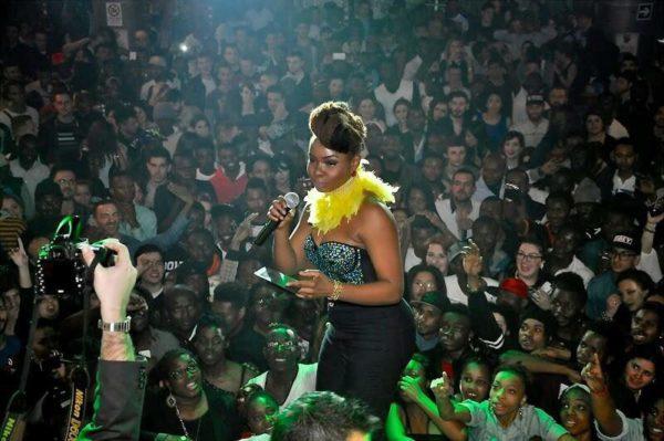 Yemi Alade in Rome (2)