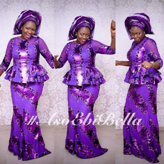 fabric by @nickycoverings, aso oke by @zevida001, makeup by @iposhlooks photo by @thedebolastyles