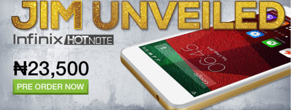 infinix Hotnote launched