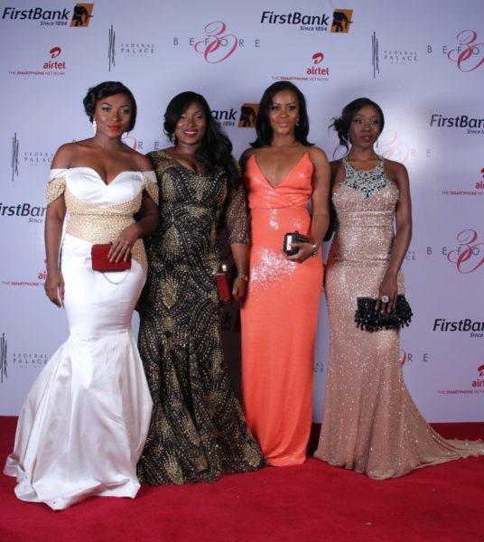Meg Otanwa, Anee Icha & Damilola Adegbite, Beverly Naya