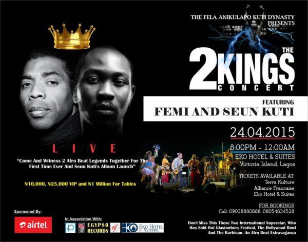 2 Kings Live Concert - BellaNaija - April 2015