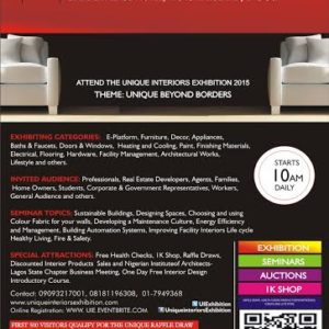 12th Unique Interiors Exhibition - BellaNaija - April2015