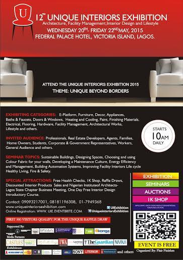 12th Unique Interiors Exhibition - BellaNaija - April2015