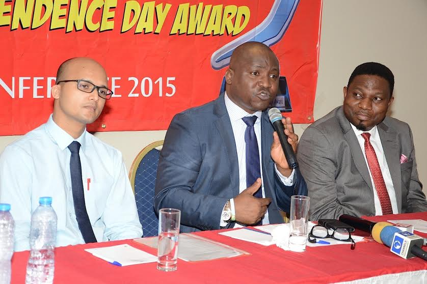 Amber Yadav (Brand Manager, Dufil Prima Food Plc); Tope Ashiwaju (Public Relations and Event Manager, Dufil Prima Food Plc) and Tola Bademosi (Managing Director, BD Consult Ltd)