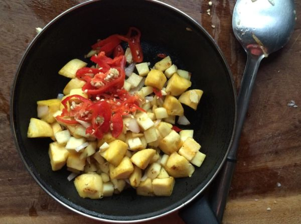 ... whites, sprinkle salt and sweet paprika to taste and cover the pan
