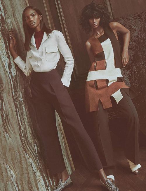 Aamito Stacie Lagum for W Magazine - BellaNaija - April2015001