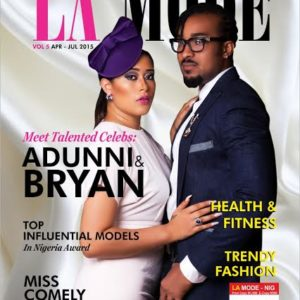 Adunni Ade & Bryan Okwara for La Mode Magazine - BellaNaija - April2015