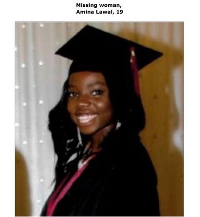 19 Year Old Canada-based Missing Girl Amina Lawal has Been
