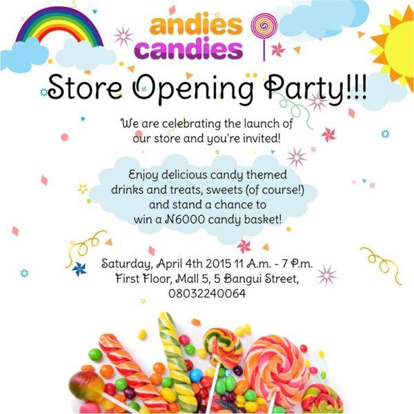 Andies Candies Store Opening - BellaNaija - April 2015001