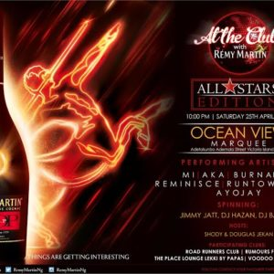 At The Club with Remy Martin All Star Edition - BellaNaija - April2015