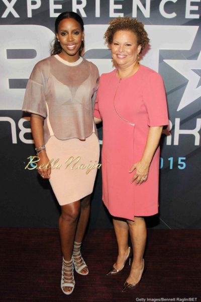 Kelly Rowland & Debra Lee