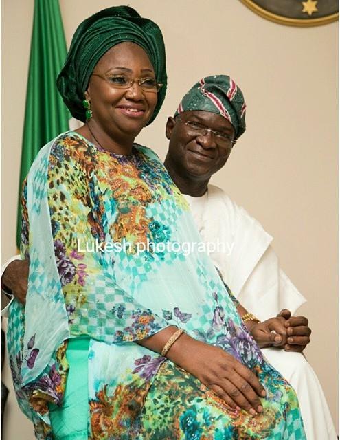 Babatunde Raji Fashola & Abimbola Fashola 2