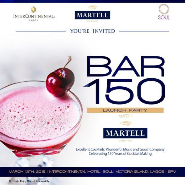 Bar 150 Invite - BellaNaija - April 2015001