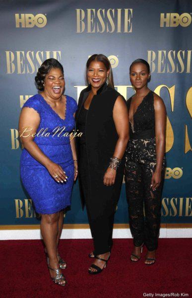 Mo'Nique, Queen Latifah & Tika Sumpter