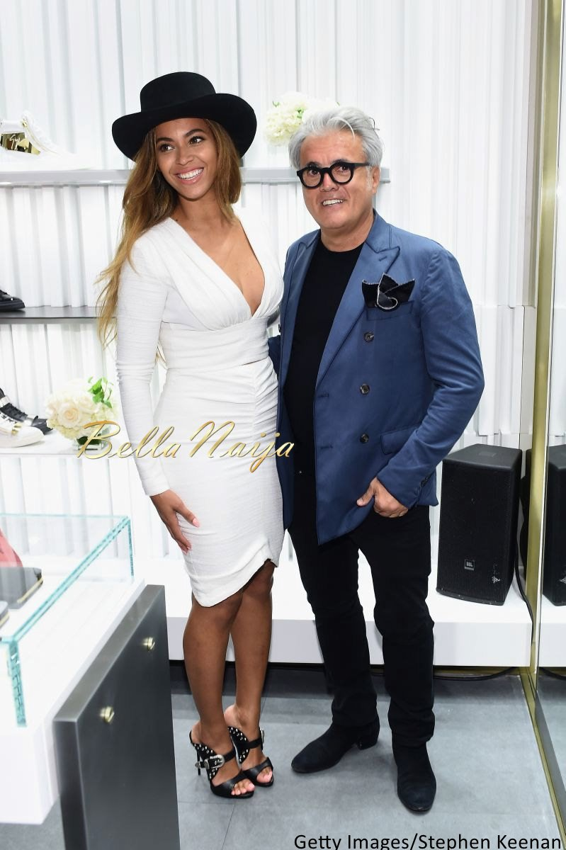 Beyonce at Giuseppe Zanotti Beverly Hills Store Opening - Bellanaija - April2015002