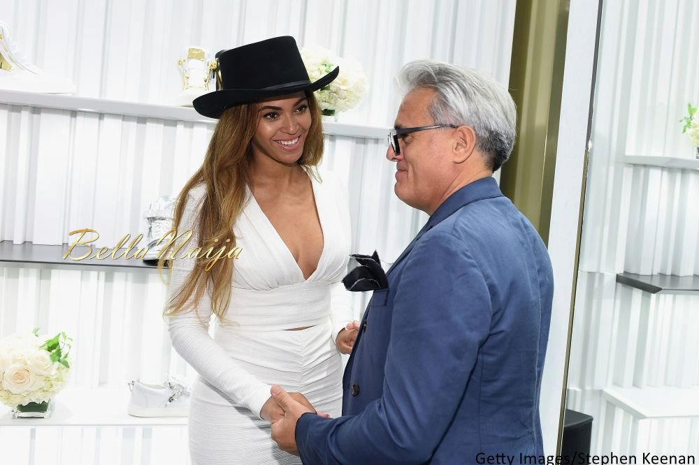 Beyonce at Giuseppe Zanotti Beverly Hills Store Opening - Bellanaija - April2015005