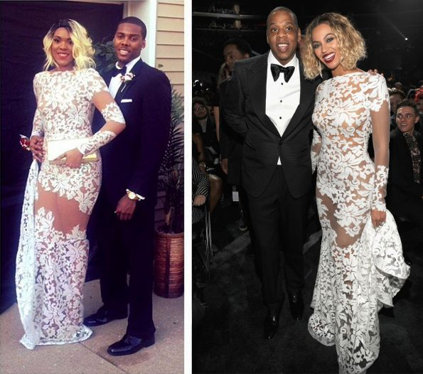 Lina Dee: Prom Couples Recreate Red Carpet Looks Of Jay-Z & Beyonce ...