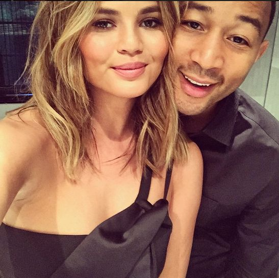 Chrissy Teigen and John Legend - BellaNaija - April2015